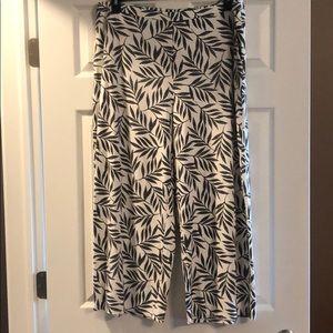 J. Jill Full-Legged Crop Pants Size XL